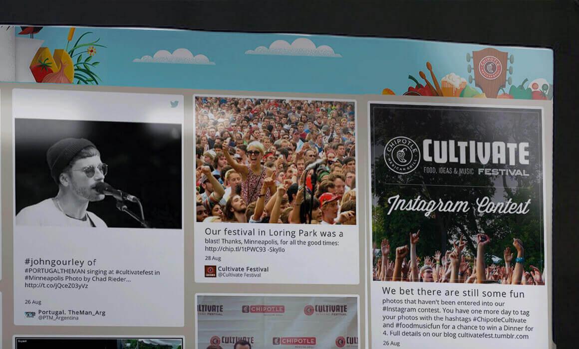 برگزاری ایونت برای تولید محتوا توسط کاربر